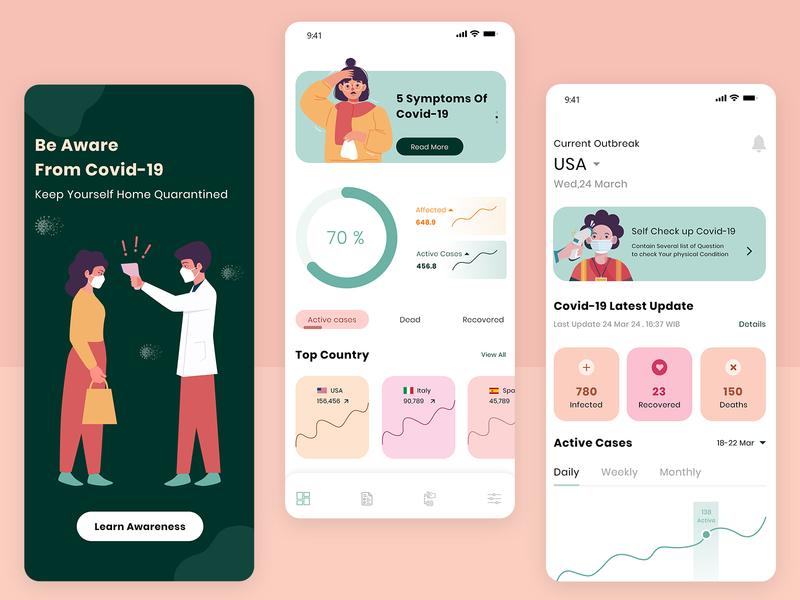 Medical App Concept [COVID19]