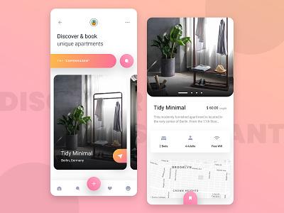 Airbnb Clone App UI Design clone app room booking cafe restaurant airline app ui mobile app design app design app clone app development hotel booking hotel booking app airbnb airbnbclone