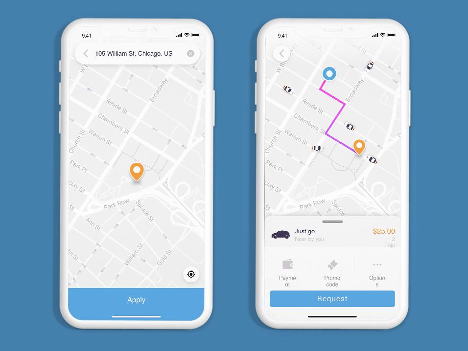 Taxi App Script