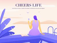 Cheers life