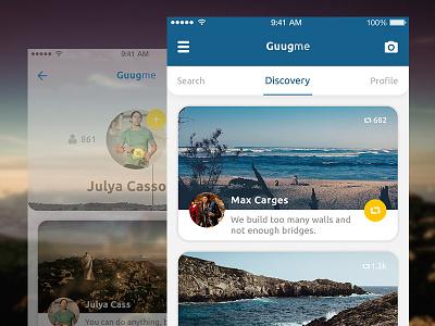 Social Journey App mobile ui social app ui mobile design user interface design journey app ui ux mobile