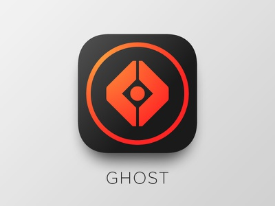 Daily UI – 005 App Icon mobile ghost destiny design ui icon app 005 dailyui