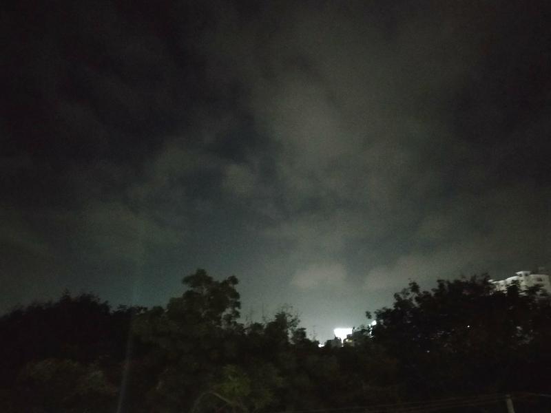 Cold nights, City lights night sky city night mode