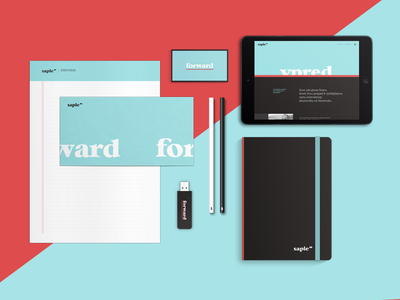 New visual identity for SAPIE  sapie visual identity brand ci corporate identity stationery letterhead business card