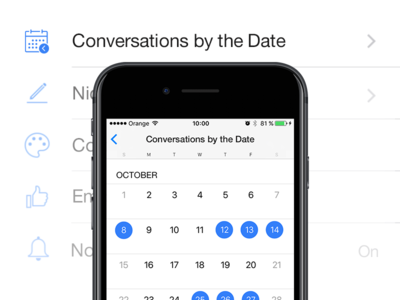 Let's make Facebook Messages great again! calendar messanger messages fix ux design facebook