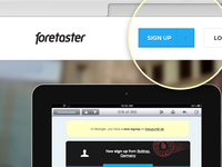 Foretaster web / Full preview attached