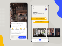 Property mobile app design
