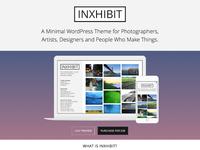 Inxhibit Home Page Updates