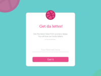 Dailyui - Day015 - Popup