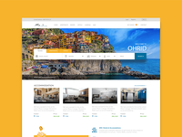 Booking website for my home town Ohrid