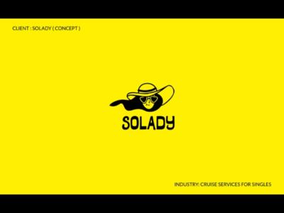 Solady - Cruise Service for Singles portfolio women new logos logofolio graphic design creative cruise branding behance