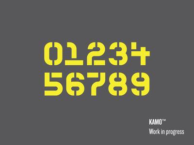 Kamo Stencil