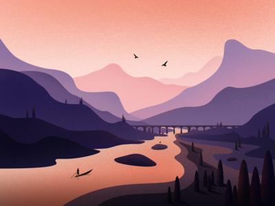 Quiet valley