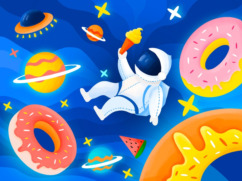 Donut universe spaceman child universe