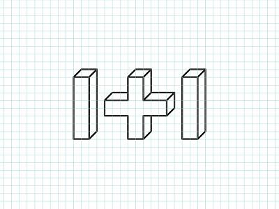 One Plus One logo logo