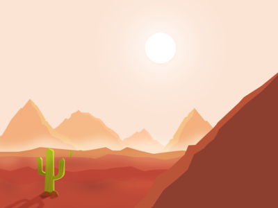 The Desert Landscape