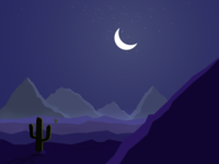 Night Mode Desert