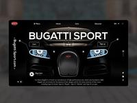 Bugatti Web Design