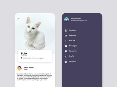 Pet mobile app