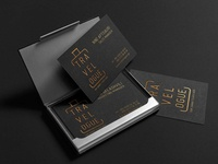 Travelogue logo and business card