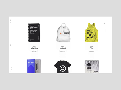 Struktur - Shop Home gift shop store ecommerce wordpress shop showcase graphic branding creative website modern design ux minimal ui