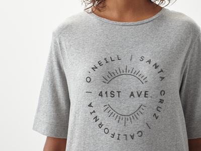 graphic apparel design / O'Neill FW18 oneill illustration textile design design logo artwork graphic apparel design print design