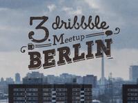 Berlin dribbble Meetup