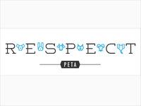 PETA Sticker - Respect