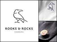 Rooks & Rocks Logo