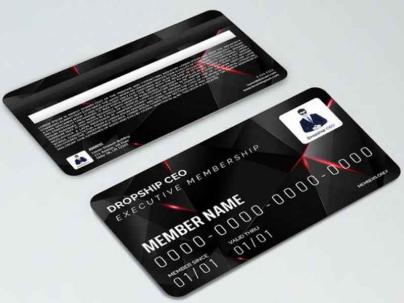 Membership Card Design graphic design vector graphic riturohilla membership design card design card