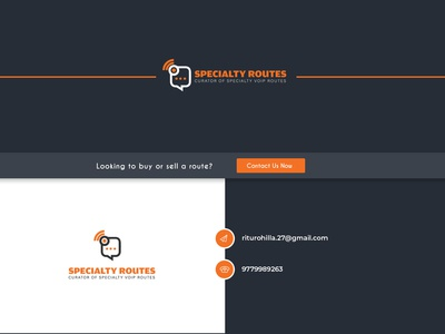Specialty Routes Minimal Content Contact Page