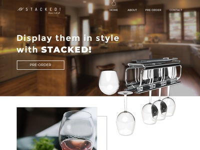 Web Page Design for Stacked
