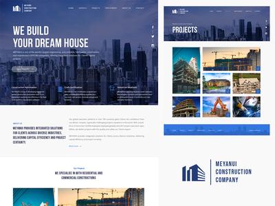 Meyanui Construction Website
