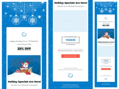 Christmas theme Email Template