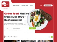 Speedy Eats Webpage Redesign