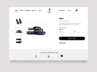 Check out page UI design for Salubata