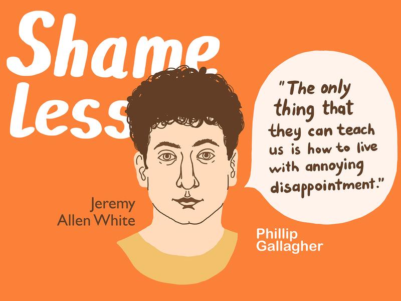 Lip shameless guy face series portrait people illustration graphics illustrations