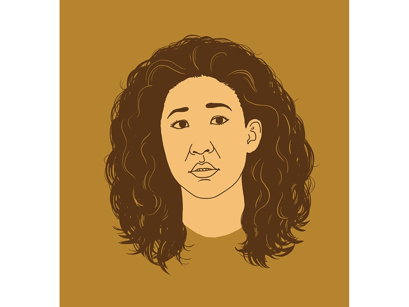 Killing Eve actress woman sandra oh girl killing eve series graphics face illustration portrait
