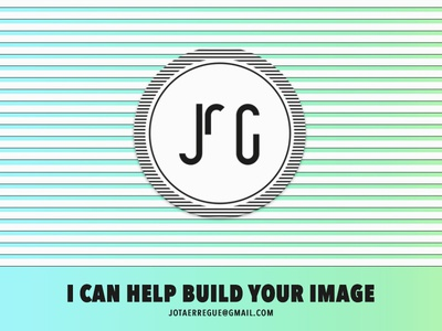 I can help build your image - Personal Branding fresh minimal branding graphicdesign webdesign colorful stripes gradient flatdesign flat icon logo