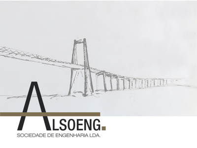 ALSOENG. logo civil engineering corporate identity branding stationery