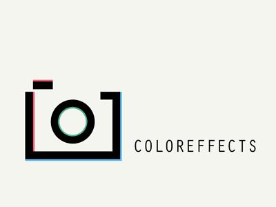 C O L O R E F F E C T S brand online shop simplify flat design store webdesign color graphic photo logo branding photography icon camera