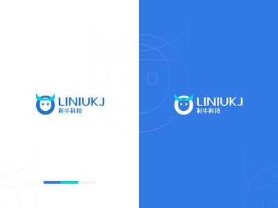 Li niu technology logo icon logo type design