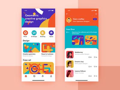 Design the APP app ux typography type ui design
