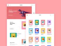 Dinosaurs web page