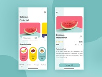 Delicious fruit app