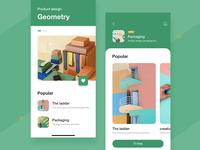Geometric package design