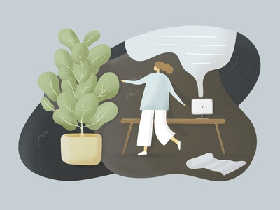 Illustration: workspace wonders