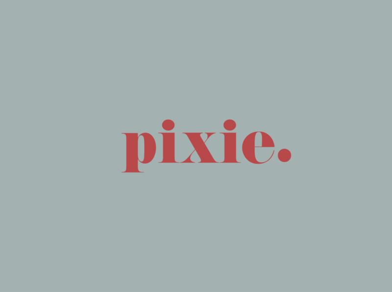 Pixie logo branding logotype logodesign graphic design logo design logo