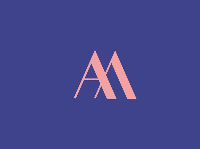 A.M. logo logo design logodesign logotype branding vector logo