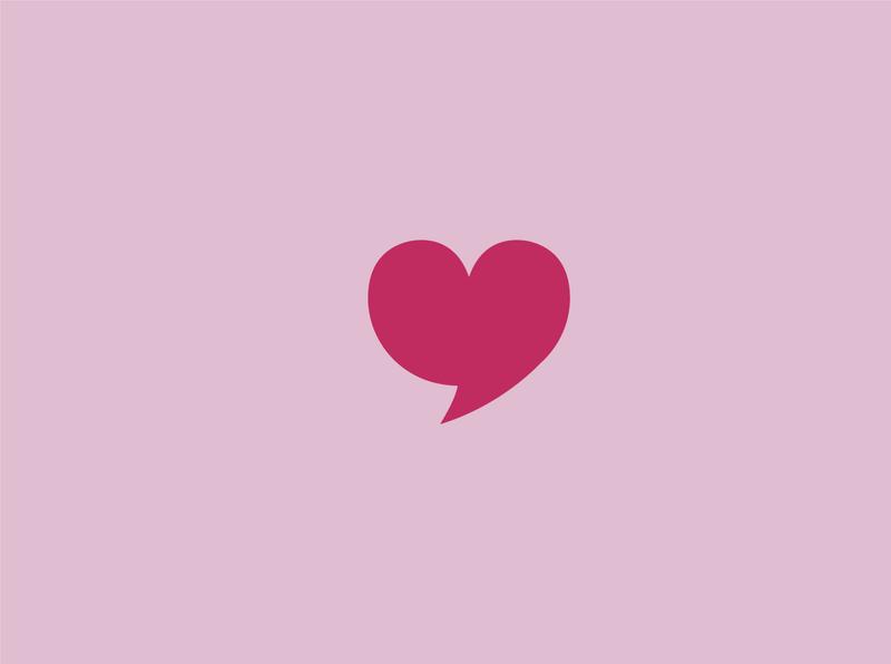 Love message logo graphic design logo design logodesign logotype illustration vector logo branding
